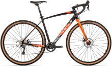 kolo Rock Machine GravelRide 200 (L) gloss black/brick orange/silver 2021