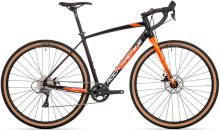 kolo Rock Machine GravelRide 200 (S) gloss black/brick orange/silver 2021