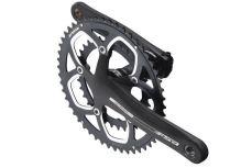 Kliky FSA Omega Compact 175 34/50 černé - demontované z kola