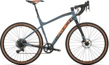 Kolo Rock Machine Gravelride 700 Mat Slate Grey/Neon Orange/Black 2019