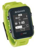 Chytré hodinky SIGMA iD TRI Basic neon zelené