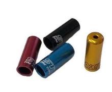 Koncovka bovdenu ST-652-1, hliníková, 4mm červená