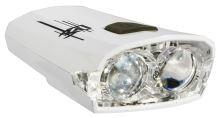 Přední světlo ROCK MACHINE Rock USB bílé