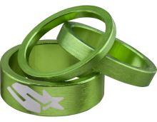 SPANK podložky pod představec Emerald zelené