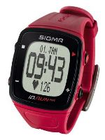 Pulsmetr SIGMA ID.Run HR tmavě růžový