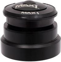 Semi-integrované hlavové složení Max1 s venkovním spodním ložiskem 49,6 mm černé