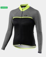 Cyklistický zateplený dres KALAS PASSION X7 dámský neon