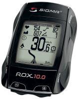 Cyklocomputer SIGMA ROX 10.0 GPS SET černá