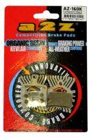 Brzdové destičky A2Z Organické AZ-160K