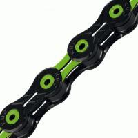 Řetěz KMC DLC 11 zeleno/černý v krabičce