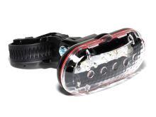 Světlo přední AUTHOR TL-20 F 5 LED (černá/ čiré sklo)