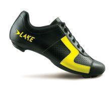 Tretry LAKE CX1 černo/žluté vel.44