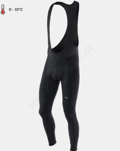 Cyklistické kalhoty Kalas ROAD PURE se šlemi čapáky černé