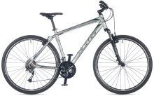 AUTHOR Stratos 2018 stříbrná/zelená/černá krosové kolo